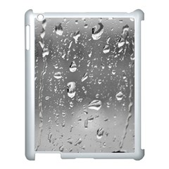 WATER DROPS 4 Apple iPad 3/4 Case (White)