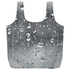 WATER DROPS 4 Full Print Recycle Bags (L)