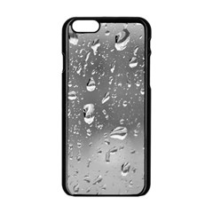 WATER DROPS 4 Apple iPhone 6/6S Black Enamel Case