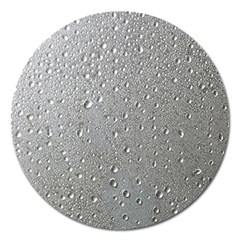 Water Drops 3 Magnet 5  (Round)