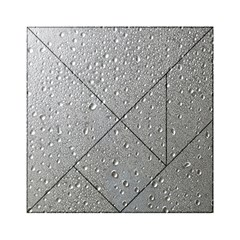 Water Drops 3 Acrylic Tangram Puzzle (6  X 6 )