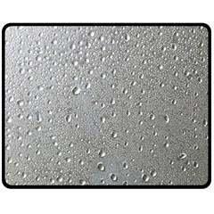 Water Drops 3 Double Sided Fleece Blanket (medium)
