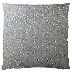 Water Drops 3 Large Flano Cushion Cases (Two Sides)