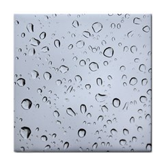 WATER DROPS 2 Tile Coasters