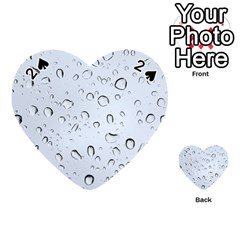 WATER DROPS 2 Playing Cards 54 (Heart)