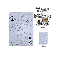 WATER DROPS 2 Playing Cards 54 (Mini)