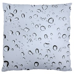 WATER DROPS 2 Large Cushion Cases (One Side)
