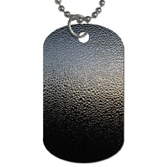 WATER DROPS 1 Dog Tag (One Side)