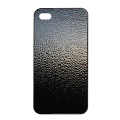 WATER DROPS 1 Apple iPhone 4/4s Seamless Case (Black)