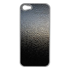 WATER DROPS 1 Apple iPhone 5 Case (Silver)