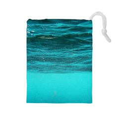 UNDERWATER WORLD Drawstring Pouches (Large)