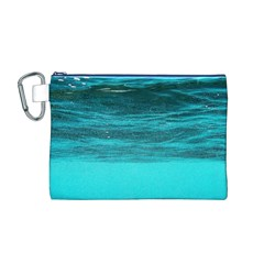 UNDERWATER WORLD Canvas Cosmetic Bag (M)