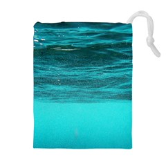 UNDERWATER WORLD Drawstring Pouches (Extra Large)