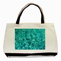 TURQUOISE WATER Basic Tote Bag