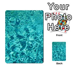 Turquoise Water Multi Purpose Cards (rectangle)