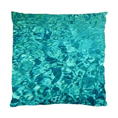 TURQUOISE WATER Standard Cushion Case (One Side)