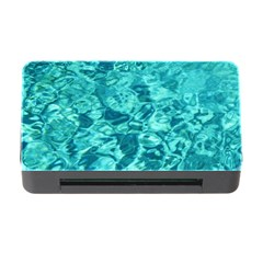Turquoise Water Memory Card Reader With Cf