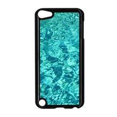 TURQUOISE WATER Apple iPod Touch 5 Case (Black)