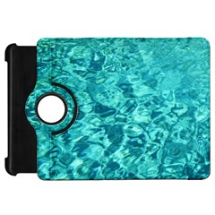 TURQUOISE WATER Kindle Fire HD Flip 360 Case