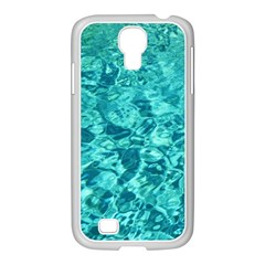 TURQUOISE WATER Samsung GALAXY S4 I9500/ I9505 Case (White)