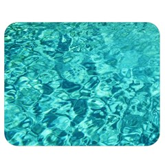 TURQUOISE WATER Double Sided Flano Blanket (Medium)