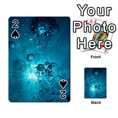 SUN-BUBBLES Playing Cards 54 Designs