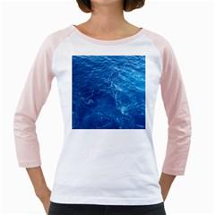 PACIFIC OCEAN Girly Raglans
