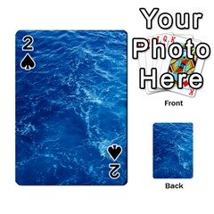 PACIFIC OCEAN Playing Cards 54 Designs