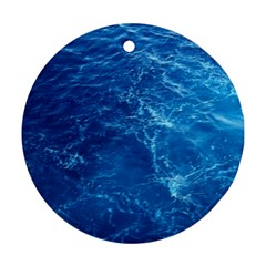 PACIFIC OCEAN Round Ornament (Two Sides)