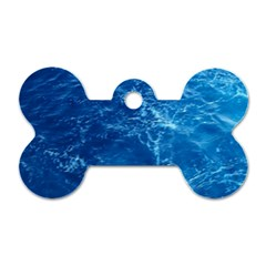 PACIFIC OCEAN Dog Tag Bone (Two Sides)