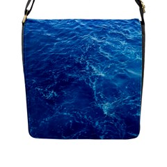 PACIFIC OCEAN Flap Messenger Bag (L)