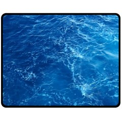 Pacific Ocean Double Sided Fleece Blanket (medium)