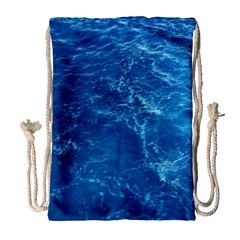 PACIFIC OCEAN Drawstring Bag (Large)