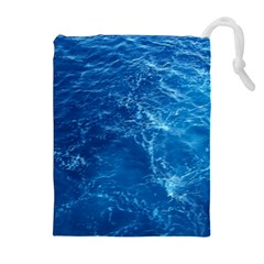 PACIFIC OCEAN Drawstring Pouches (Extra Large)