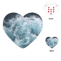 OCEAN WAVES Playing Cards (Heart)