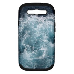 OCEAN WAVES Samsung Galaxy S III Hardshell Case (PC+Silicone)
