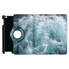 Ocean Waves Apple Ipad 2 Flip 360 Case