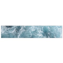 OCEAN WAVES Flano Scarf (Small)