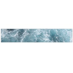 OCEAN WAVES Flano Scarf (Large)
