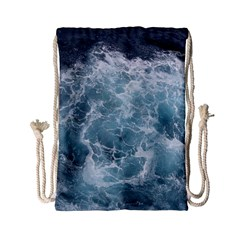 Ocean Waves Drawstring Bag (small)