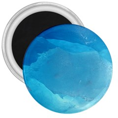 LIGHT TURQUOISE ICE 3  Magnets