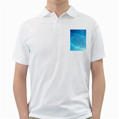 LIGHT TURQUOISE ICE Golf Shirts