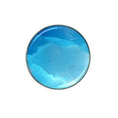 LIGHT TURQUOISE ICE Hat Clip Ball Marker