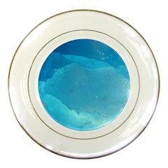LIGHT TURQUOISE ICE Porcelain Plates