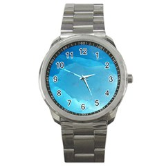 LIGHT TURQUOISE ICE Sport Metal Watches