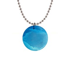 Light Turquoise Ice Button Necklaces