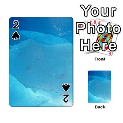 Light Turquoise Ice Playing Cards 54 Designs