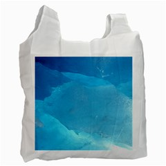 LIGHT TURQUOISE ICE Recycle Bag (Two Side)