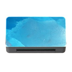 Light Turquoise Ice Memory Card Reader With Cf