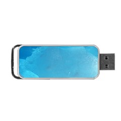 LIGHT TURQUOISE ICE Portable USB Flash (Two Sides)